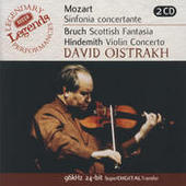 Mozart: Sinfonia Concertante/Bruch: Scottish Fantasia; Hindemith: Violin Concerto (2 CDs) Songs