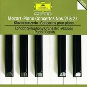 Piano Concertos Nos.21 K.467 & 27 K.595 Songs