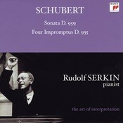 Schubert: Piano Sonata No. 20, D. 959 & 4 Impromptus, D. 935 Songs