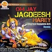 Om Jay Jagdeesh Hare Chorus Song