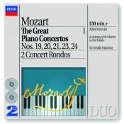 Mozart The Great Piano Concertos Vol 1 Songs