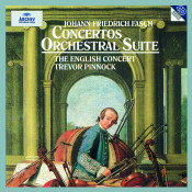 Fasch: Concerto A8 In D Major FWV L:D1; Concerto In C Minor FWV L:C2; Orchestral Suite In G Minor FWV K:G2; Concerto In B Flat Major FWV L:B1; Concerto In D major FWV L:D14 Songs
