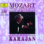 Mozart Late Symphonies Songs
