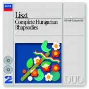 Liszt Complete Hungarian Rhapsodies Songs
