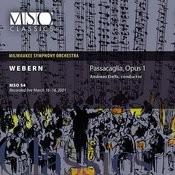 Webern: Passacaglia, Op. 1 Songs