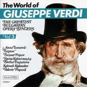 The World Of Guiseppe Verdi - Vol.3 Songs