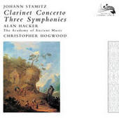 Stamitz, Johann: Clarinet Concerto / 3 Symphonies Songs