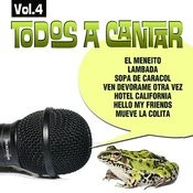 Todos A Cantar Vol.4 Songs