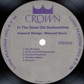 In The Good Old Summertime Songs