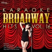 Karaoke Broadway Hits Vol. 16 Songs