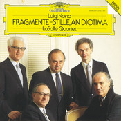 Nono: Fragmente - Stille, An Diotima For String Quartet Songs