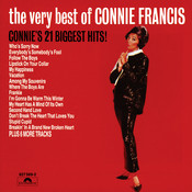 The Very Best Of Connie Francis - Connie 21 Biggest Hits Songs