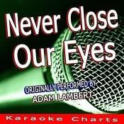 Never Close Our Eyes (Originally Performed By Adam Lambert) [Karaoke Version] Song