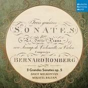 B. Romberg: Sonaten Fr Hammerklavier Und Cello Op. 5 Songs