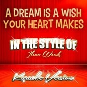 A Dream Is A Wish Your Heart Makes (In The Style Of Ilene Woods) [Karaoke Version] - Single Songs
