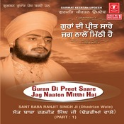 Guran Di Preet Saare Jag Naalon Mitthai Hai Songs