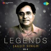 Legends Jagjit Singh Cd 5 Songs