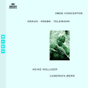 Graun Krebs Telemann Oboe Concertos Songs