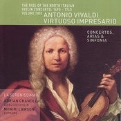 The Rise of the North Italian Violin Concerto: 1690-1740 Volume Two- Antonio Vivaldi, Virtuoso Impresario Songs