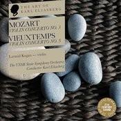 Mozart: Violin Concert No. 3 - Vieuxtemps: Violin Concerto No. 5 Songs