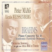 Brahms: Piano Concerto No. 2 & Academic Festival Overture Songs