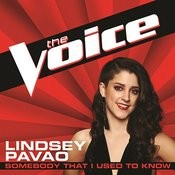 Somebody That I Used To Know (The Voice Performance) Songs
