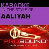 Try Again (Karaoke Instrumental Track)[In The Style Of Aaliyah] Song