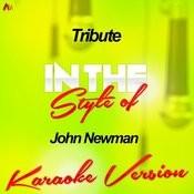 Tribute (In The Style Of John Newman) [Karaoke Version] - Single Songs