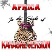 Africa (In The Style Of Toto) [Karaoke Version] - Single Songs