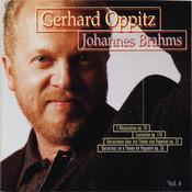 Brahms: Rhapsody 79, Fantasy 116, Variations Paganini Songs