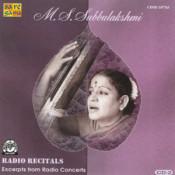 M S Subbulakshmi - Radio Recitals Vol 2 Songs