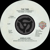 Jungle Love / Oh, Baby Songs
