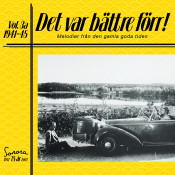 Det Var Battre Forr Volym 3 A 1941 1945 Songs