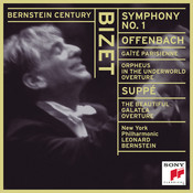 Bizet: Symphony No. 1 in C Major; Offenbach:  Gaîté Parisienne; Orphée aux enfers Overture; Von Suppé: Die schöne Galatea Overture Songs