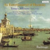 Albinoni: An Entertainment Of Harmony Songs