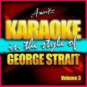 Karaoke - George Strait Vol. 3 Songs