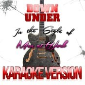 Down Under (In The Style Of Men At Work) [Karaoke Version] - Single Songs