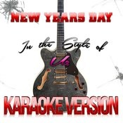 New Years Day (In The Style Of U2) [Karaoke Version] - Single Songs