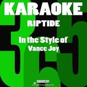 Riptide (In The Style Of Vance Joy) [Karaoke Instrumental Version] Song