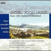 Sacred Vocal Music Form 18th Century Switzerland Songs