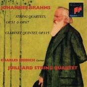 Brahms: String Quartets 1-3 & Clarinet Quintet, Op. 115 Songs