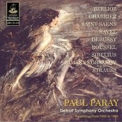Paray Conducts Berlioz, Chabrier, Ravel, Saint-Saëns And Others Songs