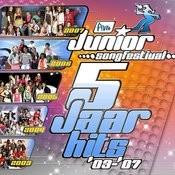 Junior Song Festival - 5 Jaar Hits '03-'07 Songs