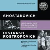 Shostakovich: Violin and Cello Concertos Songs