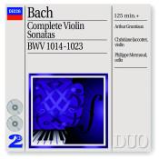 Bach J S Complete Violin Sonatas Songs