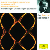 Henze Double Concerto For Oboe Harp And Strings Sonata For Strings Fantasia For Strings Songs