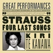 R. Strauss: Four Last Songs; Orchestral Songs Songs