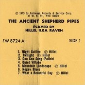 The Ancient Shepherd Pipes Songs