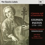 Paxton: 4 Sonatas And A Concerto Songs