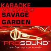Truly Madly Deeply (Karaoke With Background Vocals)[In The Style Of Savage Garden] Song